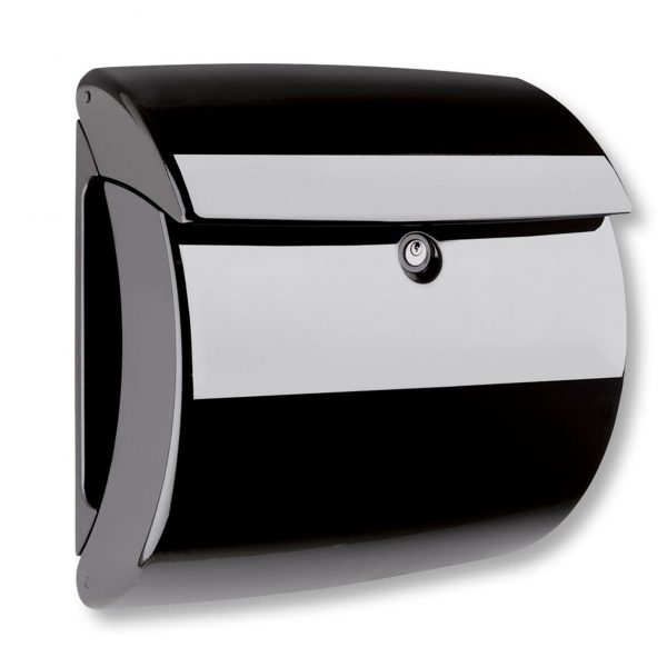 Piano Letter Box Black