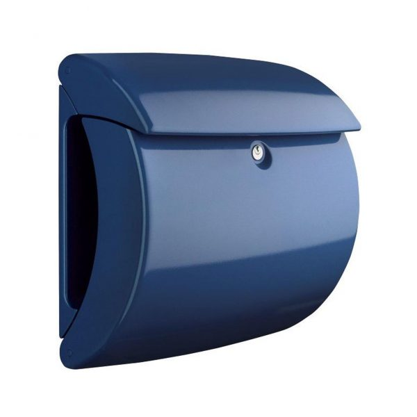 Piano Letter Box Marine Blue